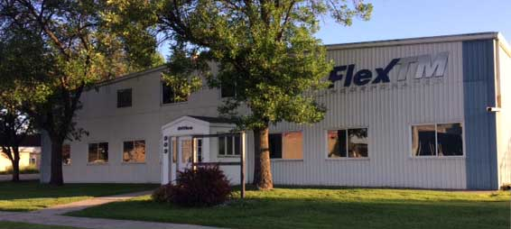 Outside picture of FlexTM building